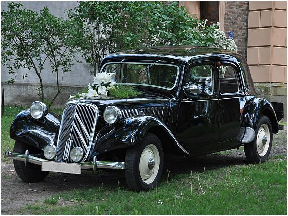 Citroen 11 CV Oldtimer Hochzeitsauto mieten Hannover